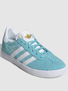 adidas-originals-gazelle-junior-trainer-bluewhite