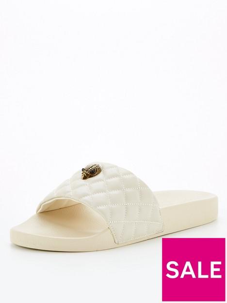 kurt-geiger-london-meena-eagle-flat-sandal-bone