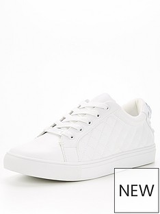 kurt-geiger-london-ludo-drench-trainer-white