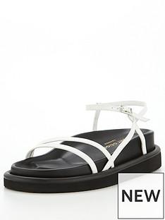 kurt-geiger-london-orson-strappy-flat-sandal-white