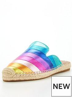 kurt-geiger-london-kira-rainbow-flat-shoe