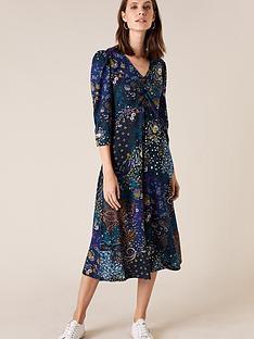 monsoon-patch-print-midi-dress
