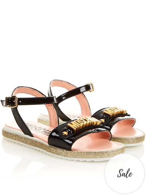 moschino-logo-gold-hardware-sandals-blacknbsp