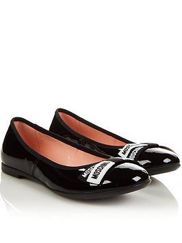 moschino-patent-ballerina-shoes-blacknbsp