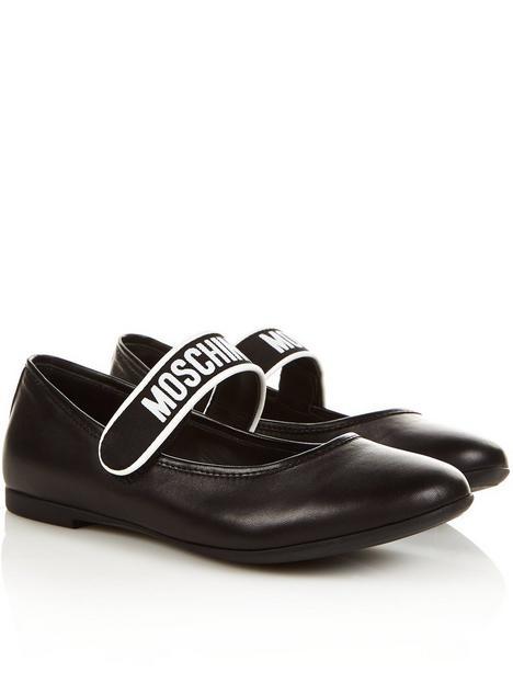 moschino-logo-bar-ballerina-shoes-blacknbsp