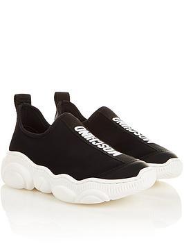moschino-slip-on-logo-trainers-black
