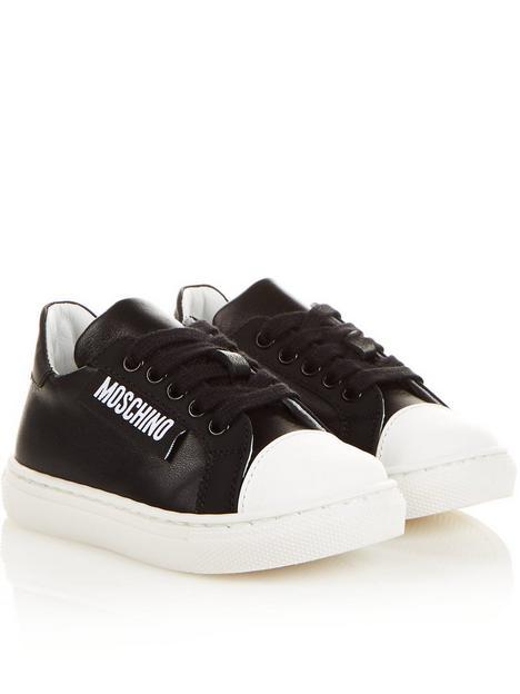 moschino-logo-tab-trainers-black