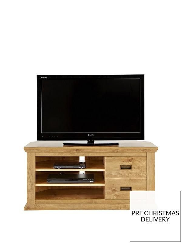 quality design fe33e 4c965 Clifton Corner TV Unit - fits up to 55 inch TV