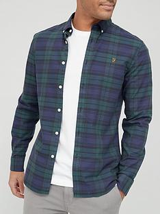 farah-tartan-brewer-oxford-shirt-greennbsp