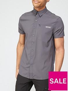 regatta-kioga-short-sleevenbspshirt-grey
