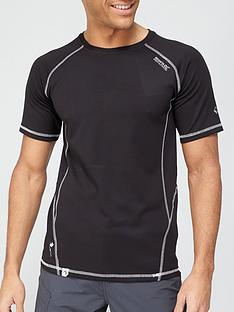 regatta-virda-t-shirt-black