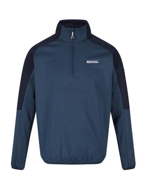 regatta-regatta-highton-half-zip-top-blue
