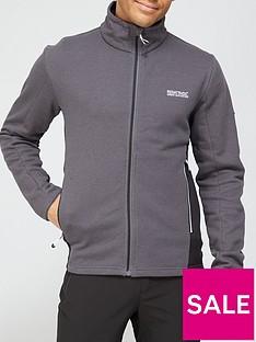 regatta-highton-full-zip-top-grey