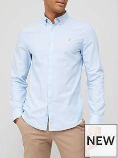 farah-brewer-oxford-shirt-sky-blue