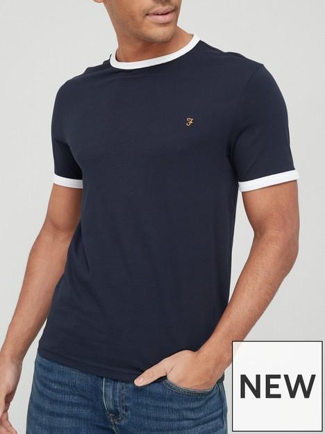 farah-groves-ringer-t-shirt-navynbsp