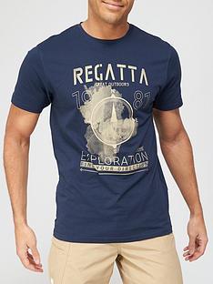 regatta-cline-logo-t-shirt-navy