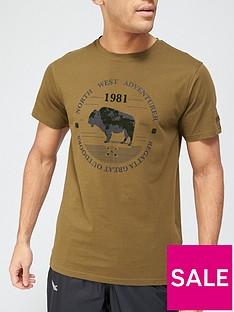 regatta-cline-logo-t-shirt-khaki