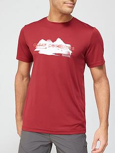 regatta-fingal-logo-t-shirt-red