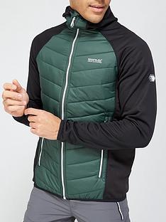 regatta-andreson-hybrid-hooded-jacket-khaki