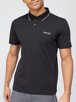 Regatta Maverik Polo - Black