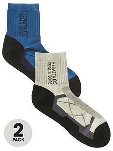 regatta-2-pack-of-regatta-outdoor-active-socks-bluegrey
