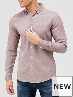 farah-hurst-oxford-shirt-purple