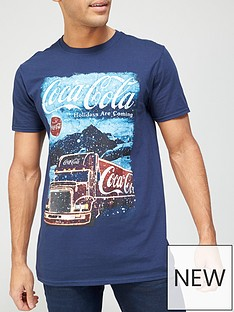 very-man-christmas-coca-cola-t-shirt-bluenbsp