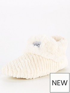v-by-very-avah-chevron-collar-slipper-boots-cream