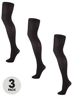 v-by-very-valuenbsp3-packnbsp40-denier-opaque-tights-black