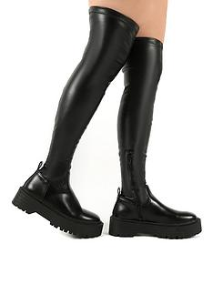 public-desire-charly-over-the-knee-boot-black