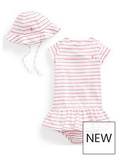 ralph-lauren-baby-girls-stripe-dress-hat-teddy-gift-set-pink