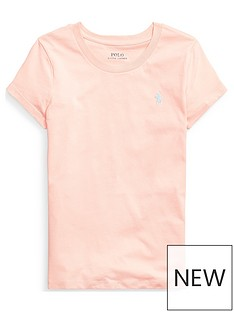 ralph-lauren-girls-classic-short-sleeve-t-shirt-coral