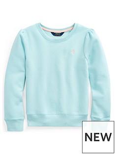 ralph-lauren-girls-sweat-top-turquoise