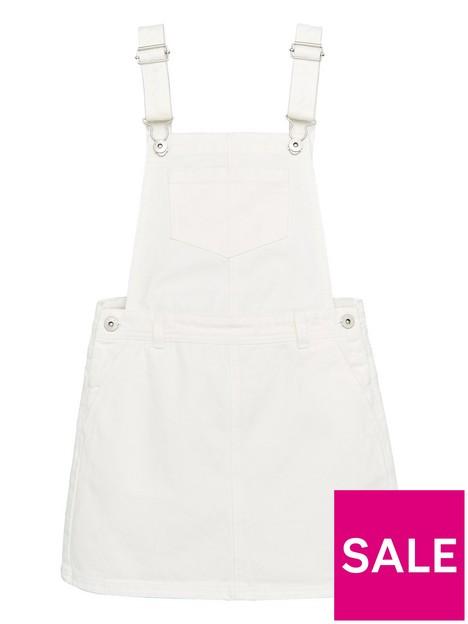 v-by-very-girls-denim-pinafore-dress-white