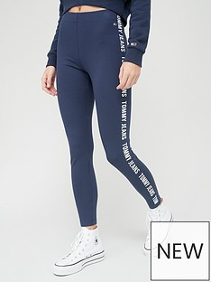 tommy-jeans-skinny-fit-taped-legging-navy