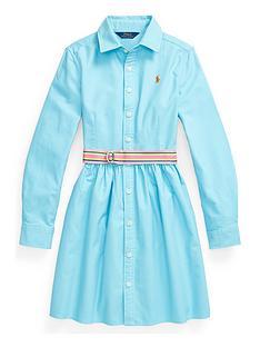 ralph-lauren-girls-woven-shirt-dress-turquoise