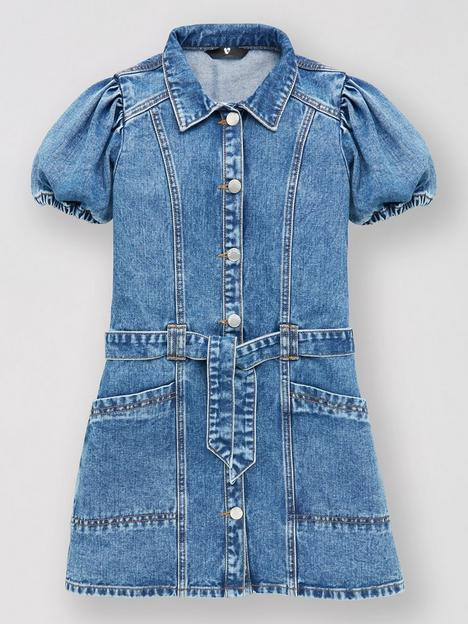 v-by-very-girls-denim-dress-blue