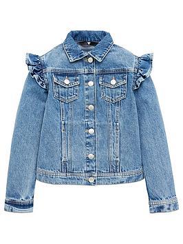 v-by-very-girls-frill-denim-jacket-mid-wash