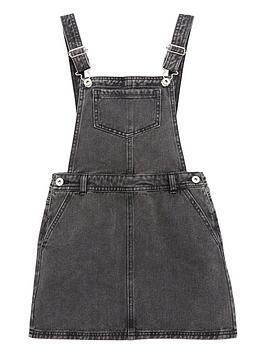 v-by-very-girls-denim-pinafore-dress-grey