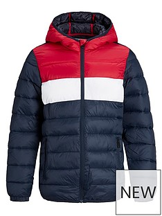 jack-jones-junior-boys-essential-colour-block-hooded-padded-jacket-navy-blazertango-red
