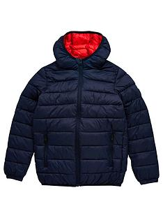 jack-jones-junior-boys-essential-hooded-padded-jacket-navy-solid