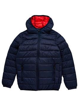 jack-jones-junior-boys-essential-hooded-padded-jacket-navy-solid