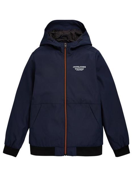 jack-jones-junior-boys-essential-hooded-jacket-navy-blazer