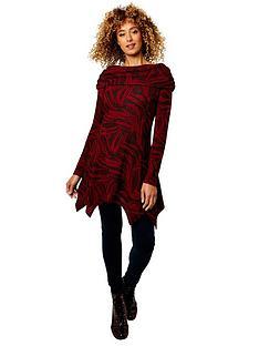 joe-browns-shawl-collar-tunic-burgundy