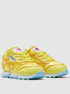 reebok-infant-peppa-pig-classic-leather-yellowbluenbsp