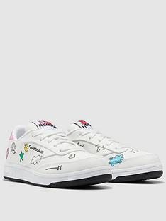 reebok-childrens-peppa-pig-club-c-whitenbsp