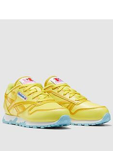 reebok-childrens-peppa-pig-classic-leather-yellowbluenbsp