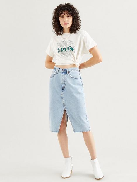 levis-deconstructed-split-skirt-light-wash-blue