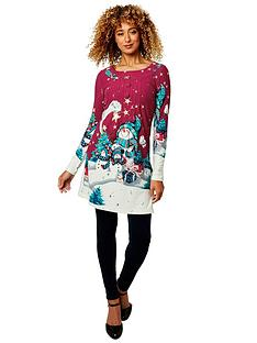 joe-browns-joyful-christmas-tunic-burgundy