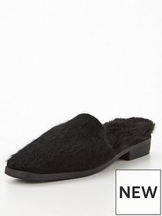 v-by-very-valet-faux-fur-loafer-slipper-blacknbsp